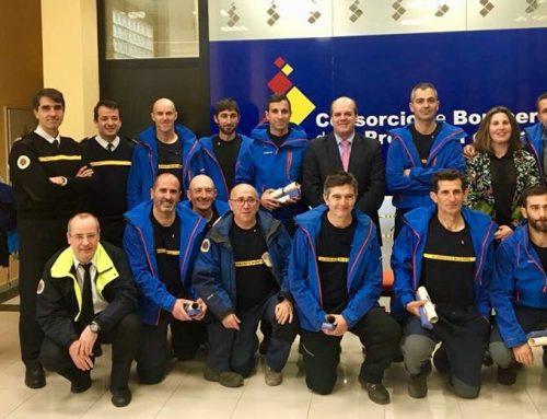 ¡Enhorabuena! A los héroes del Grupo de Rescate de Montaña.