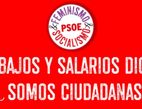 Por Trabajos y Salarios Dignos: Somos Ciudadanas
