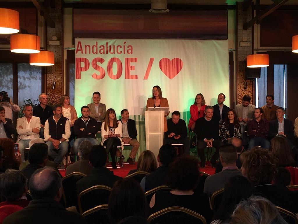 Acto de presentación de los candidatos a las alcaldías de los pueblos de la comarca de la Sierra de Cádiz