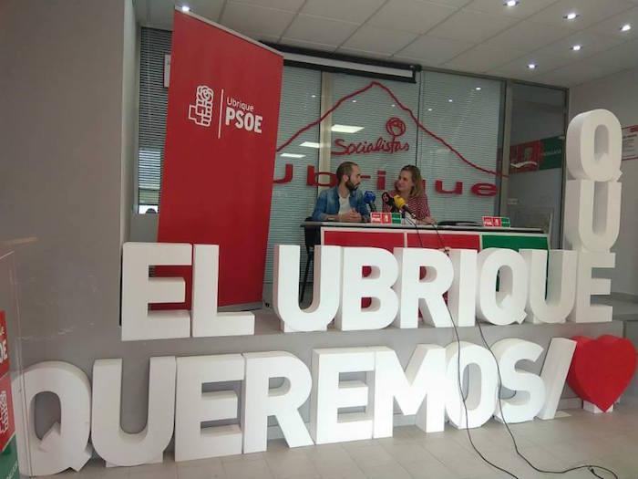 secretaria general del PSOE de Ubrique, Isabel Gómez