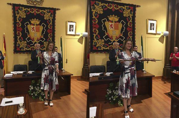 Tradicional noche de pegada de carteles 2019 PSOE Ubrique - Casa del Pueblo