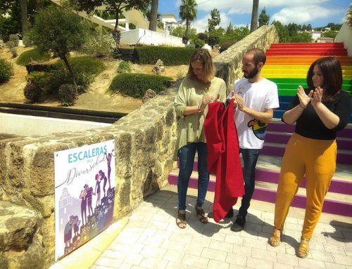 Inauguración de la «Escalera de la Diversidad» del Parque Rafael Alberti