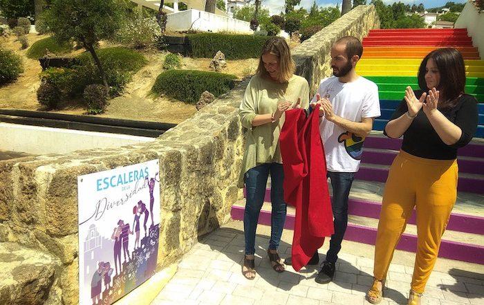 Escalera de la Diversidad del Parque Rafael Alberti