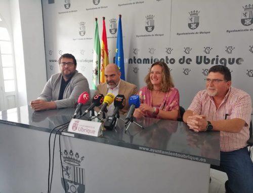 Jaime Armario, Isabel Gómez y la Escudería de Ubrique se reúnen para tratar como será la edición de la Subida Ubrique – Benaocaz 2020