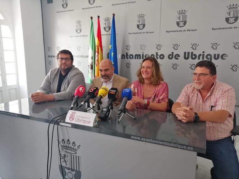 Rueda de Presa Ayto de Ubrique, Subida Ubrique - Banaocaz