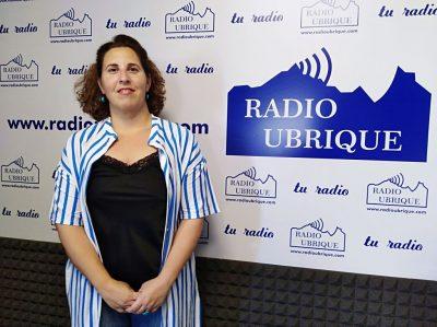 Virginia Bazán estrena el espacio de Radio Ubrique «Salud en Verano»