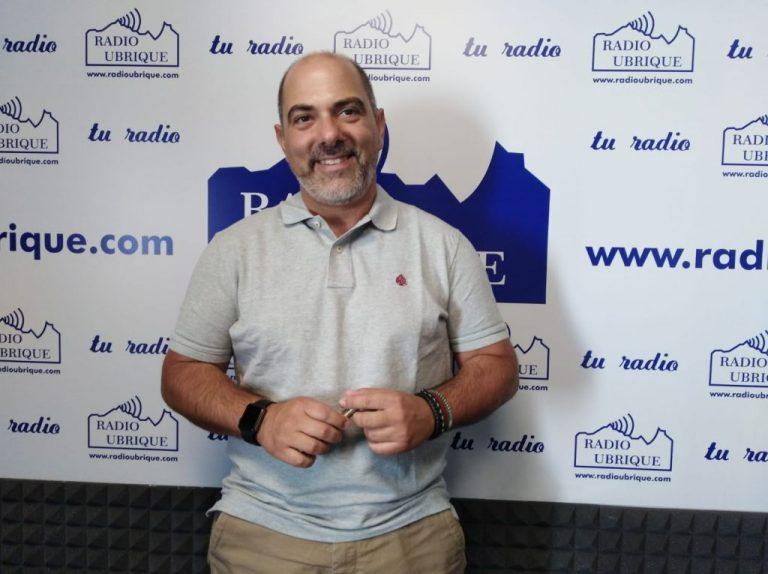 El portavoz del Grupo Municipal Socialista en el Ayuntamiento de Ubrique, Manuel Ángel Chacón