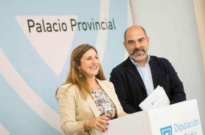 Plan Invierte 2019 Irene Garcia en rueda de prensa