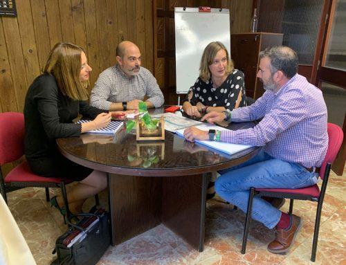 Isabel Gómez, ha presentado en Diputación el estudio de las alternativas planteadas para reducir el riesgo de inundaciones en la urbanización Coto Mulera