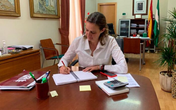 Isabel Gómez planteará la creación de un BOJA con ayudas para los negocios cerrados por la pandemia