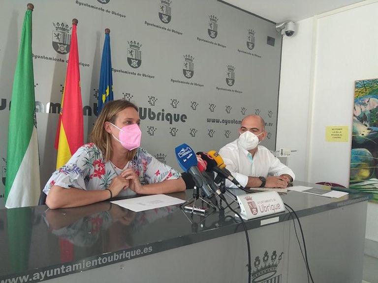 Rueda de prensa Isabel Gómez y Manuel Ángel Chacón DipuActiva
